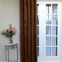 Store BAMBOO verttical porte Patio couloeur Expresso 54 x 84 po.