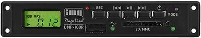 img Stage Line DMP-100R SD/MMC/USB MP3 Player & Rekorder