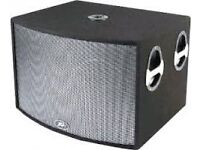 PEAVEY 2 UL 2X15 BASS BINS ONLY NO TOPS.