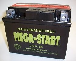 Eton AXL 50,90, TXL 50,90, Rascal 40,VIper Jr,40E  ATV Replacement Battery LTX4L