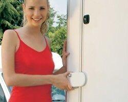 Fiamma Safe Door White - Caravan Door Lock