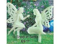 2 glow in the dark fairies