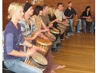 Djembe Drumming Classes in Kirkcaldy