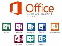 MICROSOFT OFFICE 2013 Pro Plus - WORD, POWERPOINT, EXCEL,OUTLOOK, ACCESS, PUBLISHER