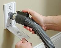 Service and Installation  Wet or Dry central  Vacuums