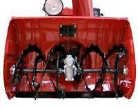 Honda snowblower HS1132 augers