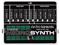 Bass guitar pedal MicroSynth