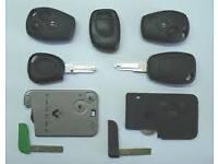 Renault Key Cards Replacement Service. Megane,laguna,clio,trafic,modus. Newcastle upon tyne