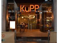 Kupp........ Oxford roof terrace restaurant - nice position to be in