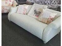 Exdisplay dfs patchwork sofa beautiful