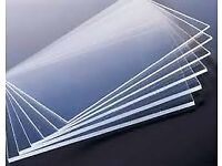 Wanted - Perspex sheets please - 2, 3 or 4mm - Will collect