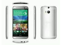 HTC ONE M8 Brand new with warranty and accessories unlocked!