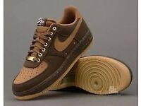 Nike Air Force 1 British Tan Pack - Size 6
