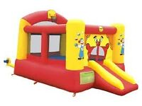 Duplay Clown Bounce 'n' Slide - 12ft Bouncy Castle