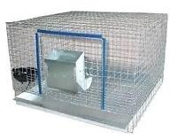 Cages a lapin monter 3x3