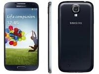 SAMSUNG GALAXY S4 16 GB BLACK FACTORY UNLOCKED 60 DAYS WARRANTY VG CONDITION LAPTOP/PC USB LEAD