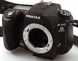 Pentax Digital Camera K 100 D super