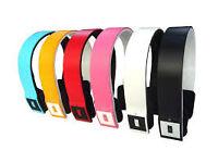 mix colours wireless bluetooth headphones