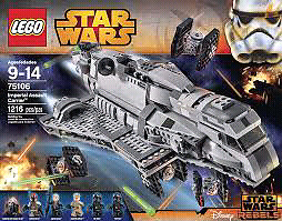 Lego Star Wars Imperial Assault Carrier 1216 pieces new
