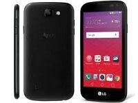 BRAND NEW LG K3 mobile on virgin. still in box