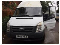 Ford transit LWB HIGH ROOF 2006 new shape 2.4 RWD