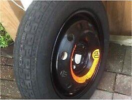 Ford Ka  Space Saver Wheel N Tyre