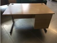 FREE Office desk ( 1200cm x800cm H 740cm) in Beech x 10 available