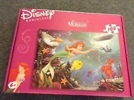 100 Piece Disney Princess – The Little Mermaid Puzzle – Age 6+ (boxed)