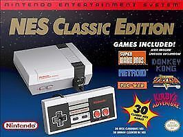 Nintendo NES Classic Edition Home Console - Gray CLVSNESA  - $45.00