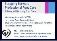 Advanced Nursing Foot Care ( In the comfort of your own home)