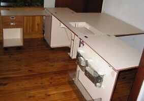 Horn Sewing Cabinet / Sewing Centre Picnic Point Bankstown Area Preview