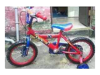 CHILD STREET RACER BIKE FOR SALE