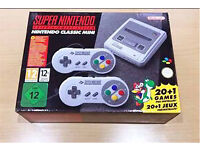 SNES mini Super Nintendo classic game system console NEW!