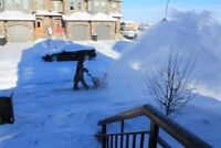 Snow removal spruce grove and stony plain