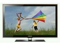 "Samsung 42"" plasma tv built in freeview hd ready 1080p."