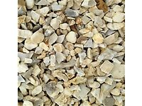 20 mm York cream garden and driveway chips/ stones / gravel