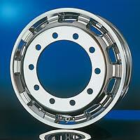"New Italspeed Aluminum Truck Wheels Size: 8.25"" x 22.5"""