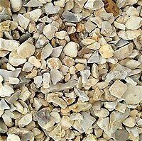 20 mm buff Flint garden and driveway chips/ stones/ gravel