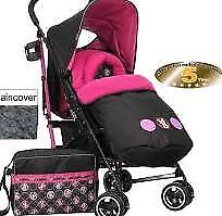 Brand new boxed Minnie mouse stroller