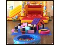 Bouncy Castle & Soft Play Party Package