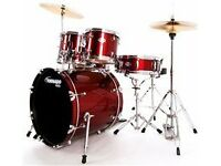 Drum kit -tornado - quality set with stool, bought last year from Matchetts at £349- hardly used.
