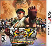 Street Fighter 4 3DS