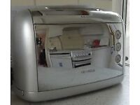 KENWOOD Chrome 2-Slice Toaster - Very Good condition