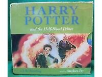 harry potter and the half-blood prince audio cds 17
