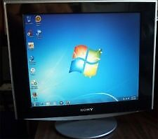 "Sony SDM-HS93 19"" Flat Panel LCD Monitor Black & Silver"