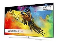 """55""""4K smart tv £230 ONO and tv is guaranteed ,NEED QUICK SALE."""