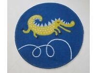 2 x crocodile/ dinosaur rugs from ikea