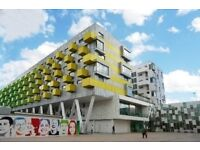 Schrier Ropeworks, Barking, IG11 - A second floor, modern, one bedroom apartment facing into the KJ
