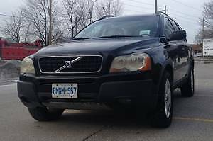 2004 Volvo XC90 T6 AWD Navigation SUV 7 seater