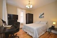 Clean, furnished rooms 2 min from uOttawa from $725 to $875